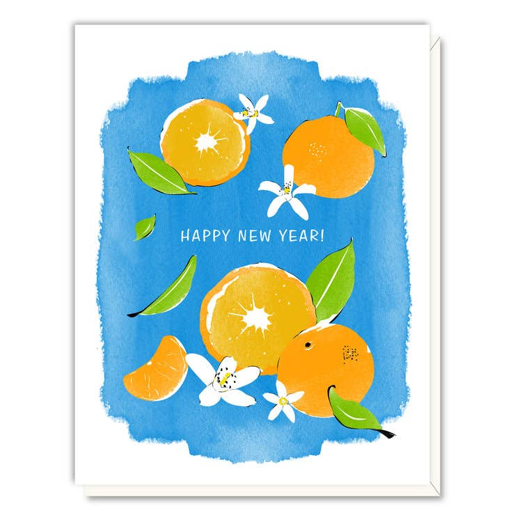 New Year Mandarins, Driscoll Design
