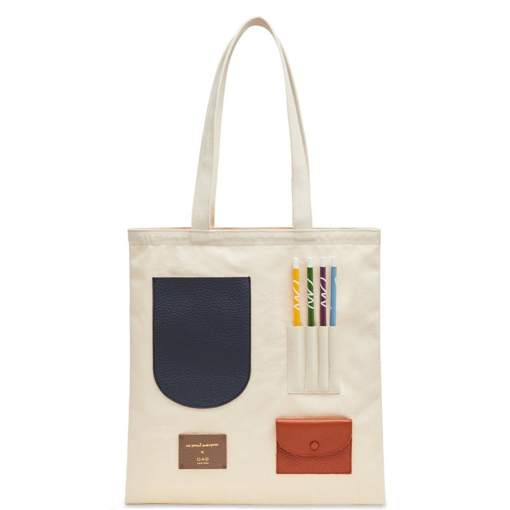 OAD x CW Pencils Tote, Neutrals