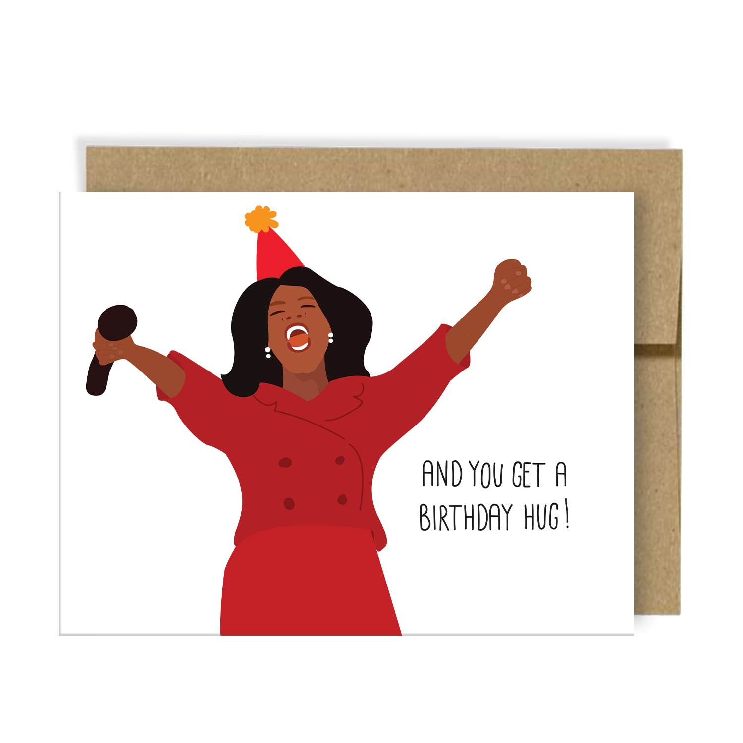 Birthday Hug, Oprah, Neighborly Paper