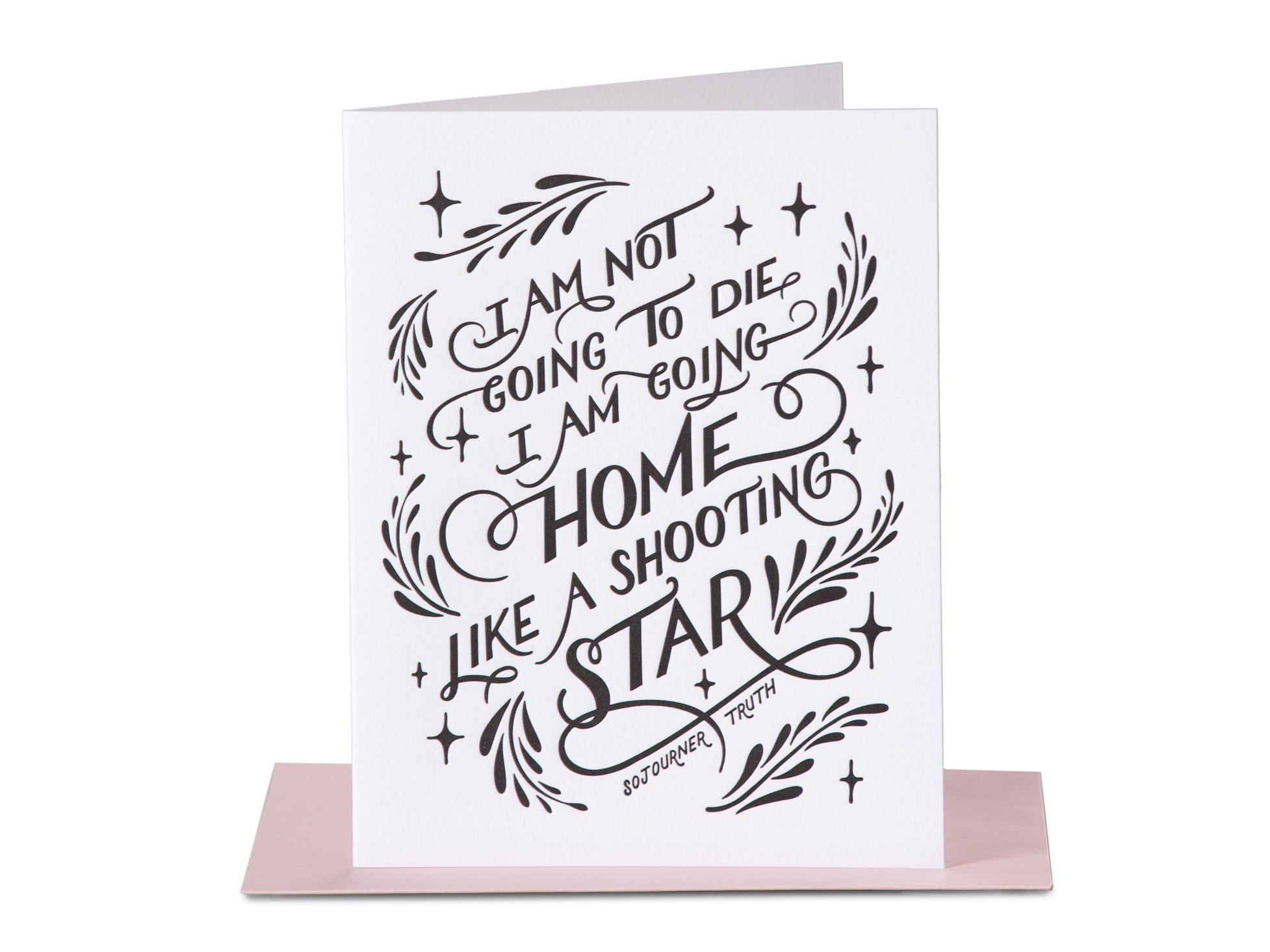 Gia Graham Shooting Star Card, Paper Epiphanie