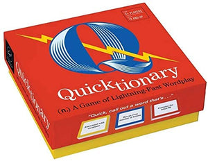Quicktionary Game: A Game of Lightning-Fast Wordplay