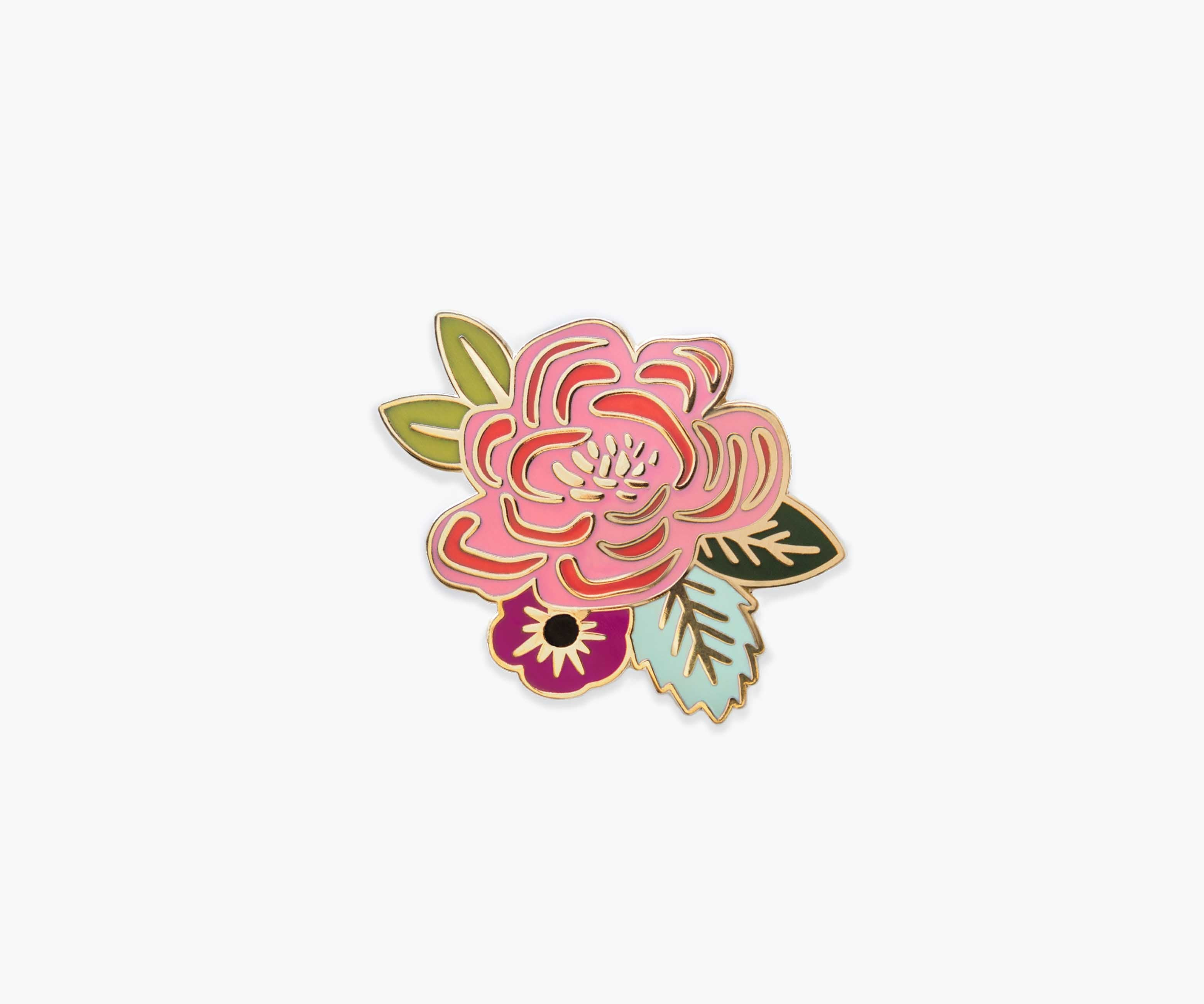 Juliet Rose Enamel Pin, Rifle Paper Co.