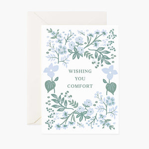Indigo Sympathy Card, Rifle Paper Co.
