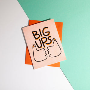 Big Ups Card, Sly Eye