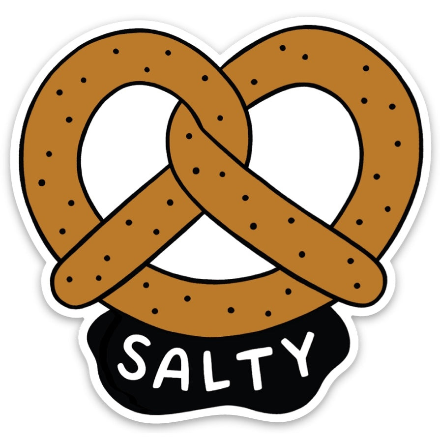 Salty Pretzel Sticker