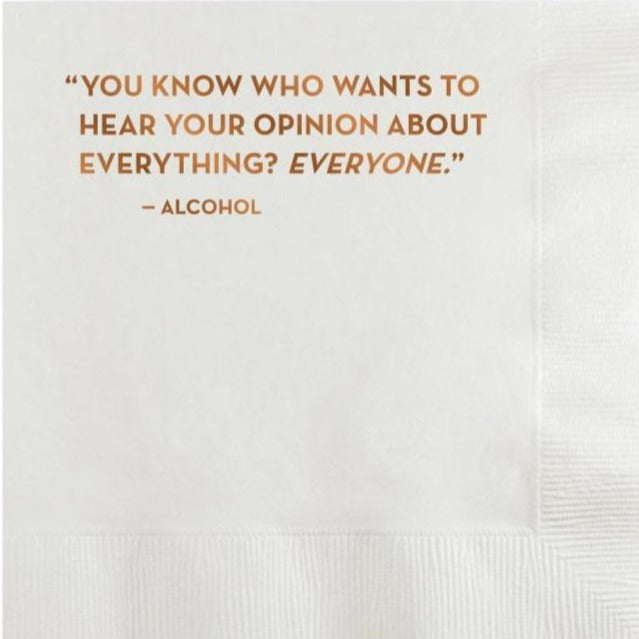 Opinion Napkins, Sapling Press