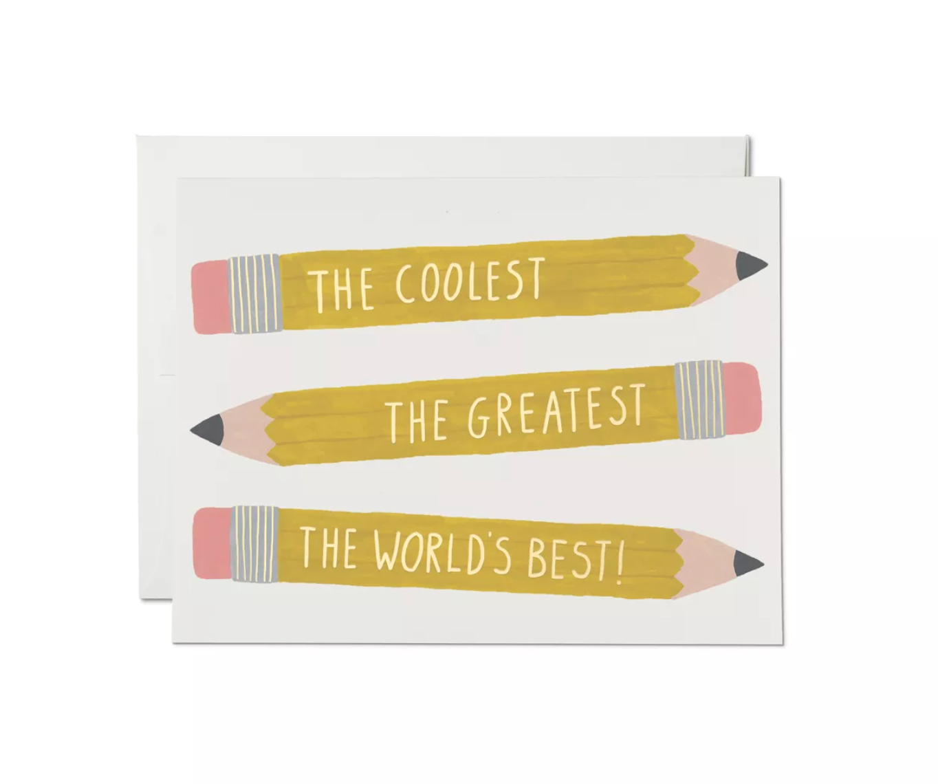 Pencils Card, Red Cap Cards