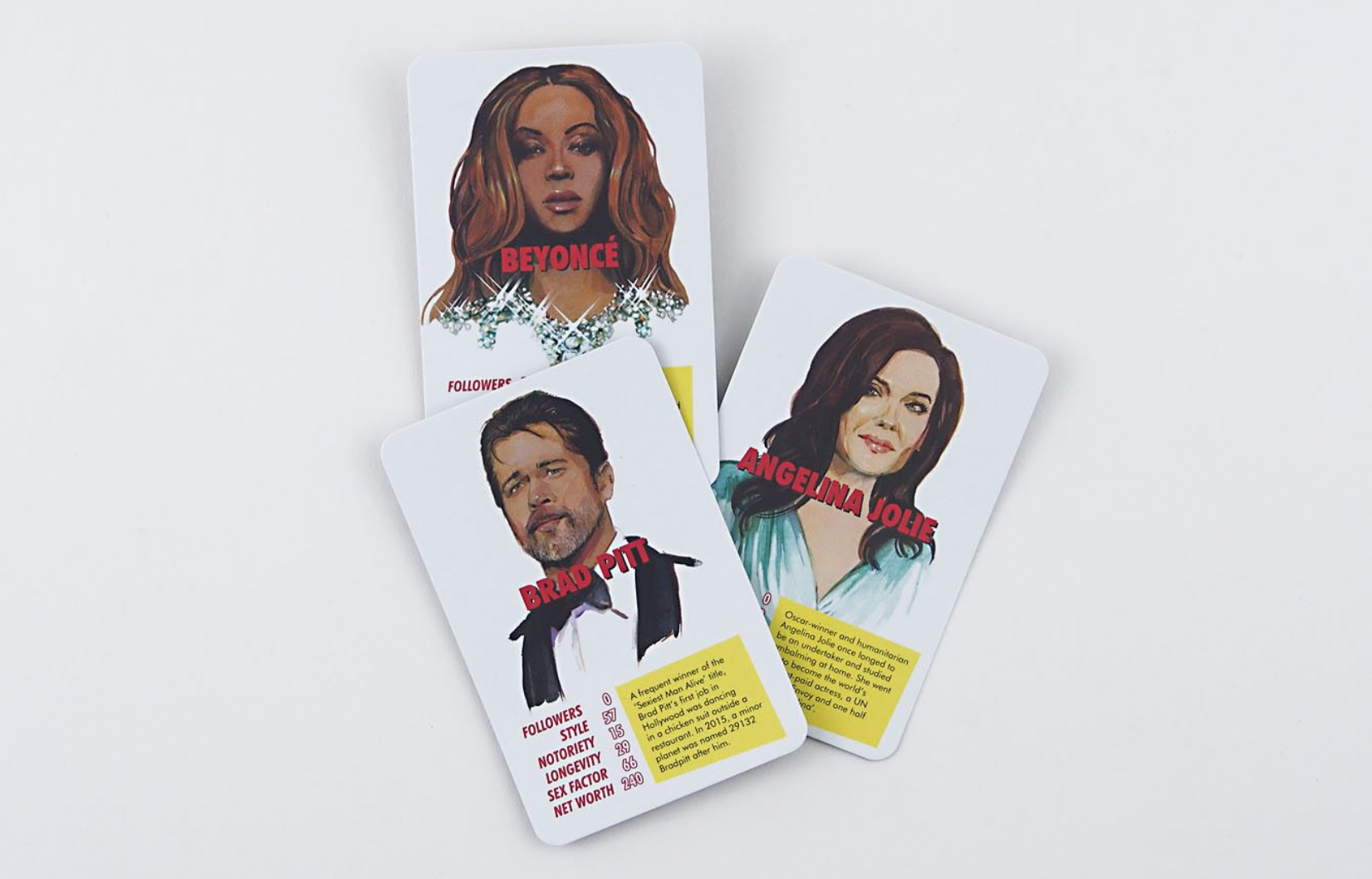 The Fame Game: Celebrity Trump Cards