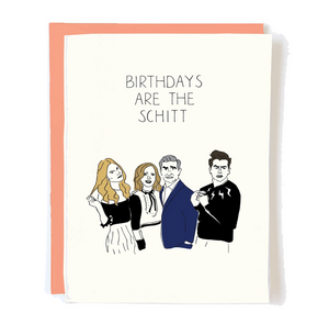 Schitt Birthday, Pop + Paper
