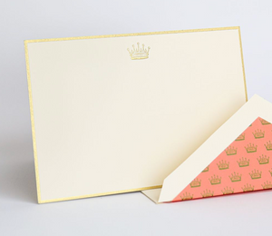 Downton Abbey Crown Cards, Crane & Co.