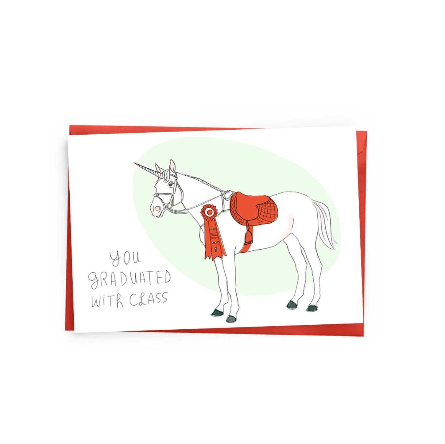 Graduation Unicorn Card, Baltic Club