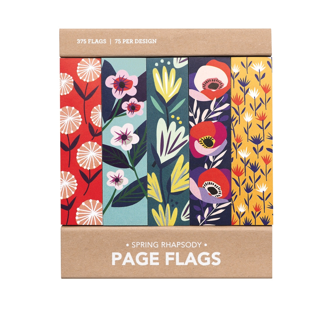 Spring Rapsody Page Flags, Girl of All Work
