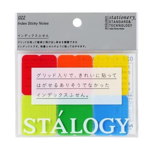 Stalogy Index Sticky Notes, Japan, 6 colors