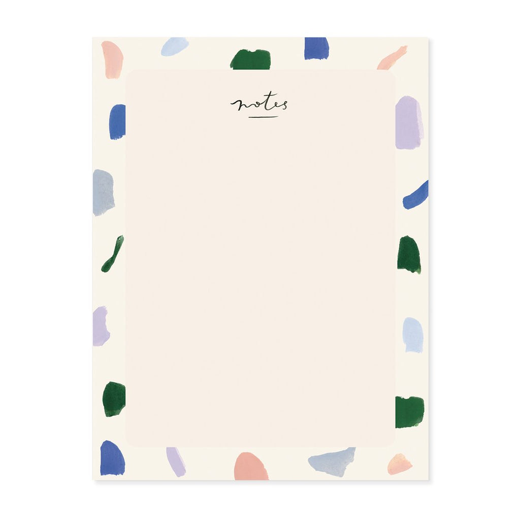 strokes blank everyday notepad from Our Heiday