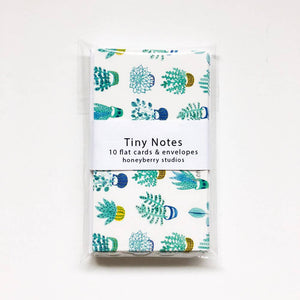 Succulent Tiny Notes Set, Honeyberry Studios