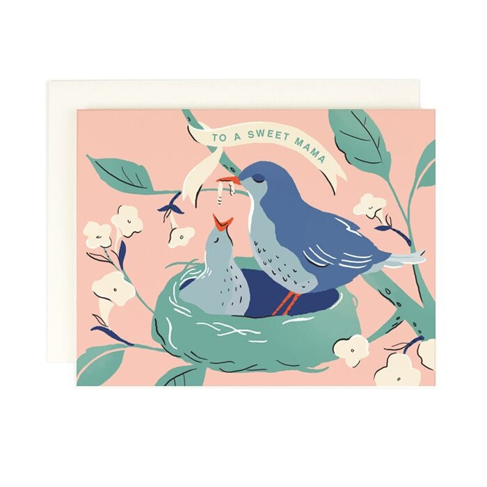 Sweet Mama Baby Bird, Amy Heitman