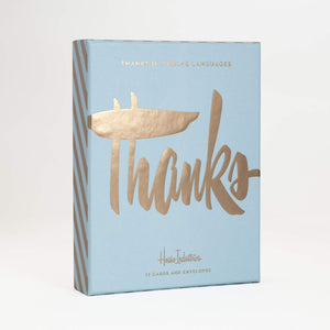 Thank You in 12 Languages Boxed Set