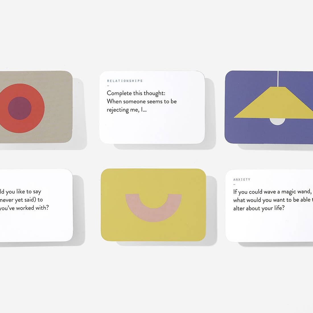 The Therapy Card Game, The School of Life