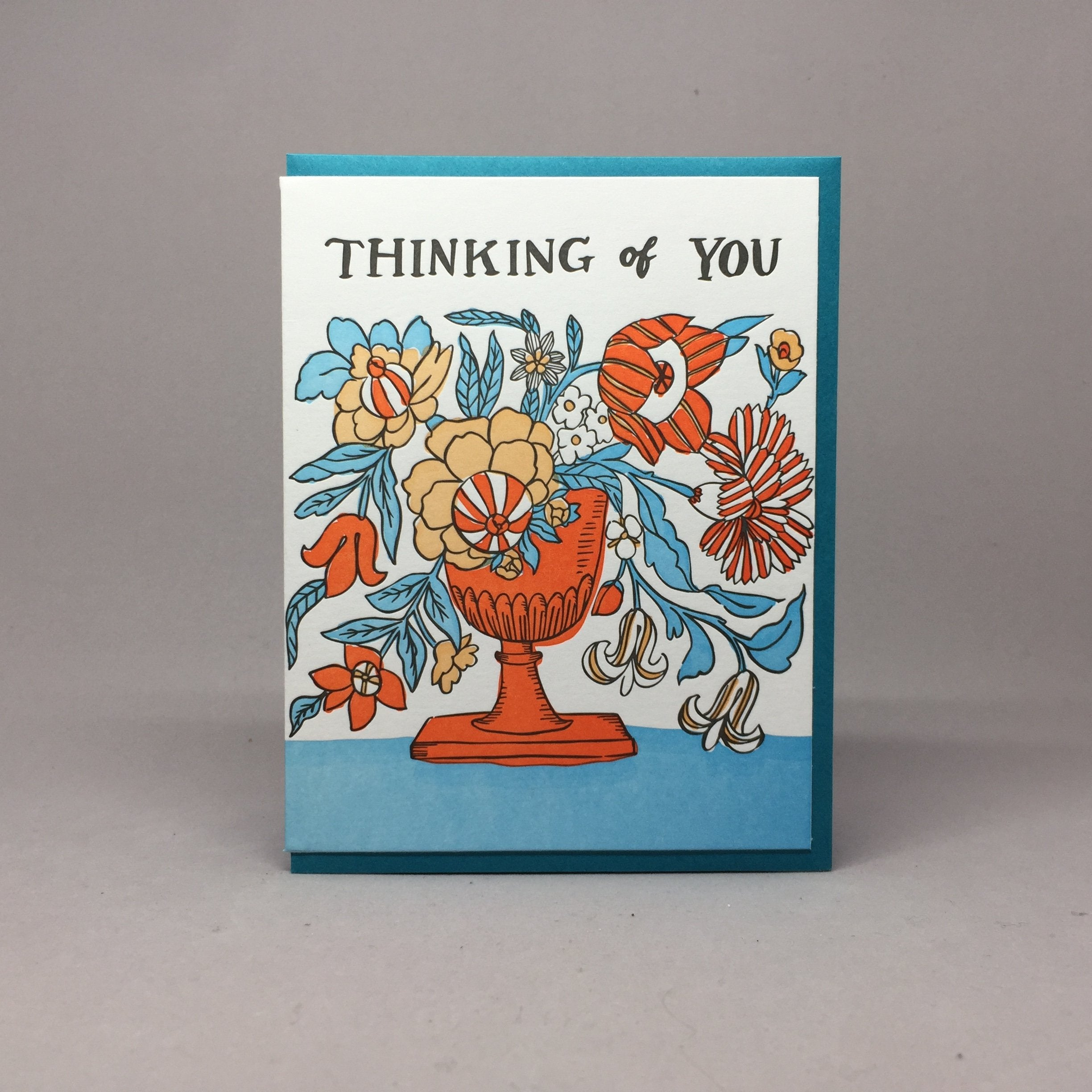 Thinking Of You Card, Big Wheel Press