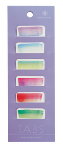 Watercolor Adhesive Tabs, Girl of All Work