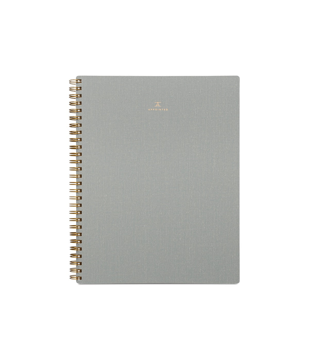 appointed workbook dove grey dot grid