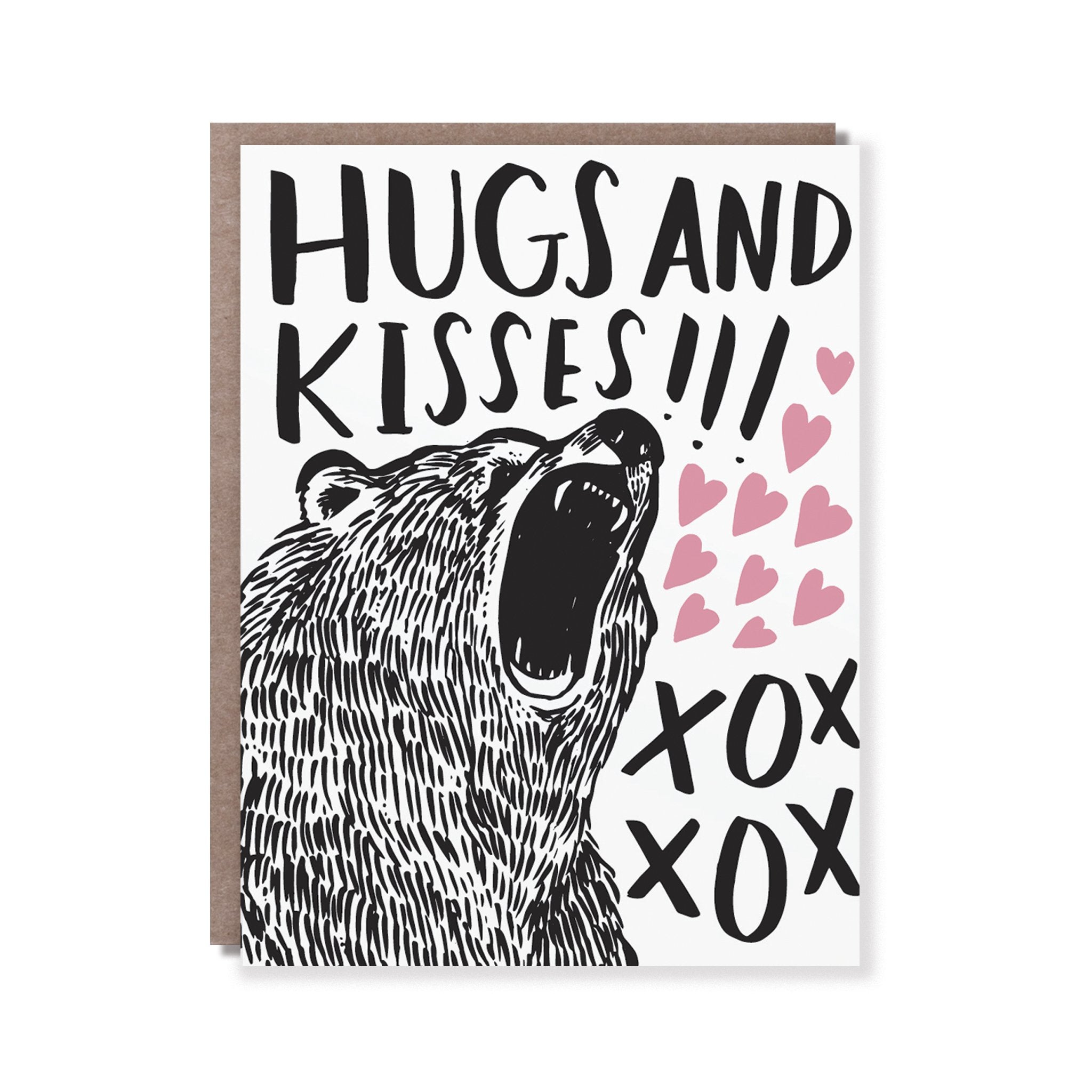 Bear Hugs Card, Hello!Lucky