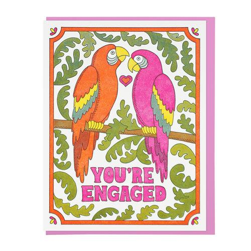 You're Engaged Macaws, Lucky Horse Press