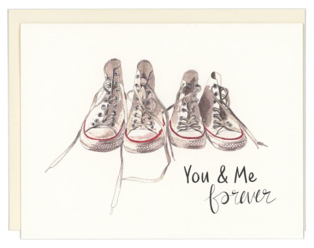 You and Me Forever Card, Good Postage