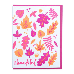Thankful Card, And Here We Are