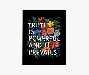 Truth Quote Art Print, Rifle Paper Co.