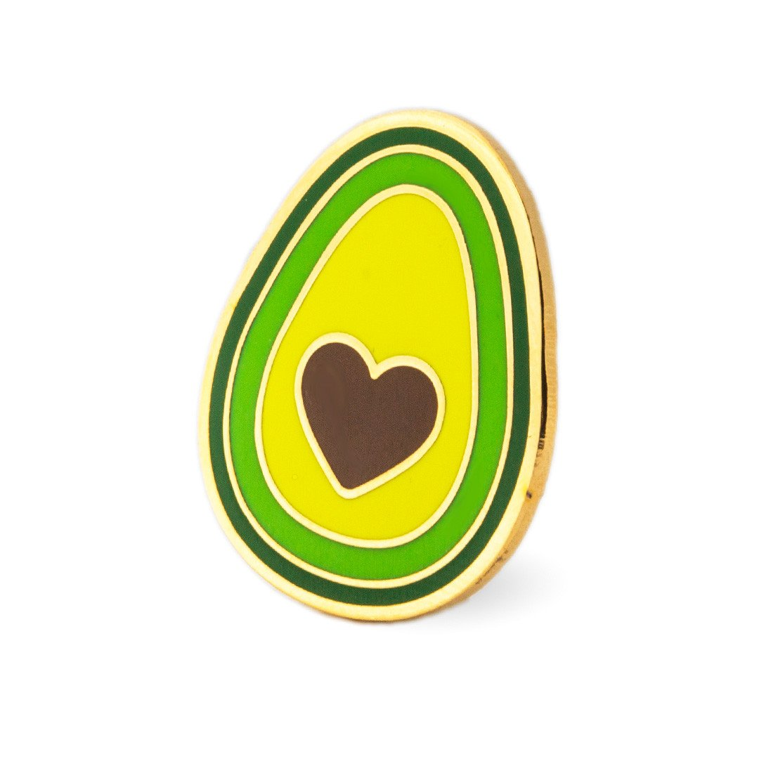 Avocado Heart Pin, These Are Things