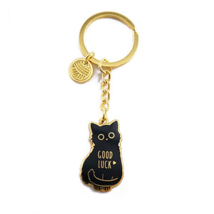 Good Luck Cat Keychain, Compoco