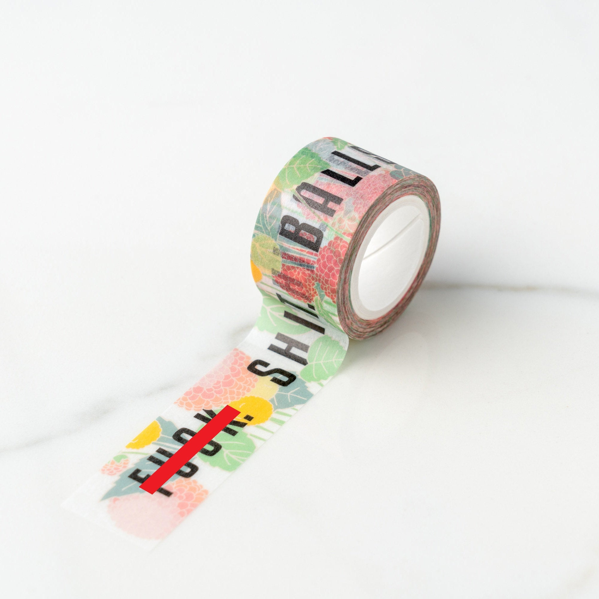 Cuss Words Washi Tape, ilootpaperie