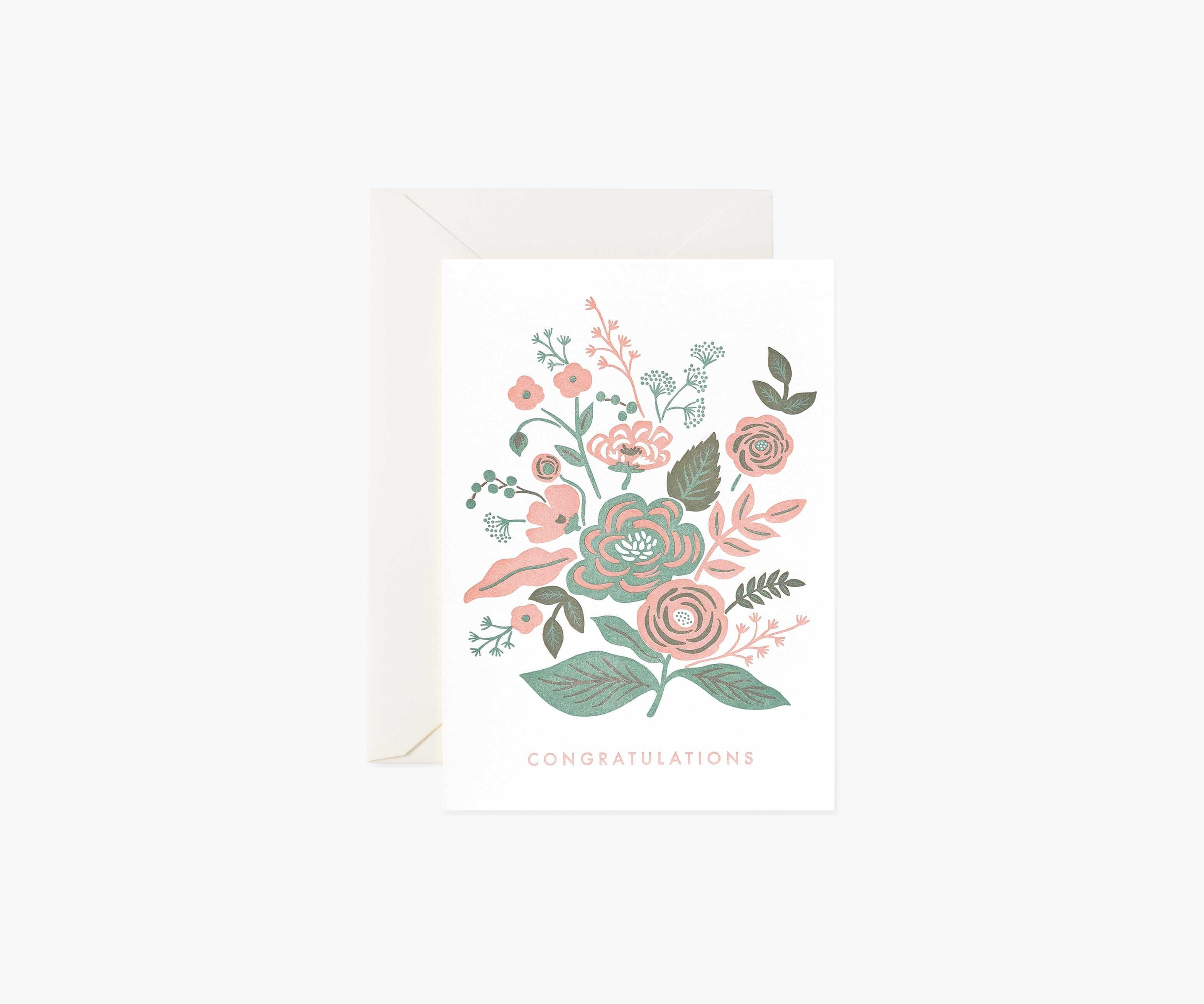 Garden Congrats Letterpress, Rifle Paper Co.