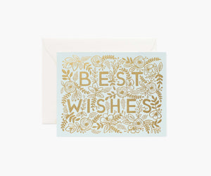 Golden Best Wishes, Rifle Paper Co.