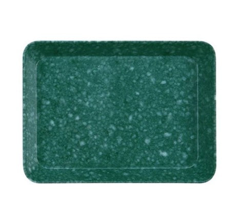 hightide small green marbled melamine desk tray