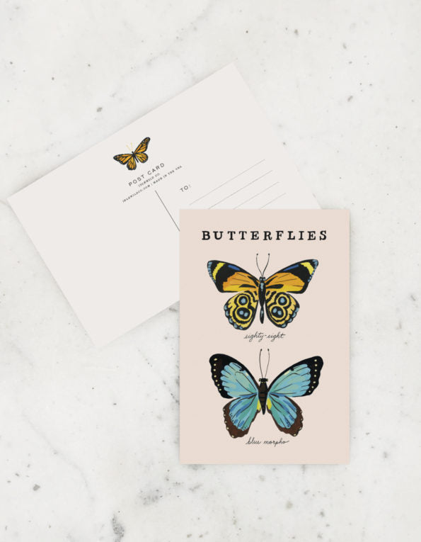 Butterfly Postcards, Idlewild Co.