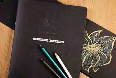 Black Paper Sketchbooks, Clairefontaine