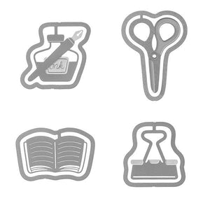 Stationery Etched Clips
