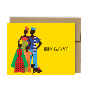 Happy Kwanzaa, Neighborly Paper