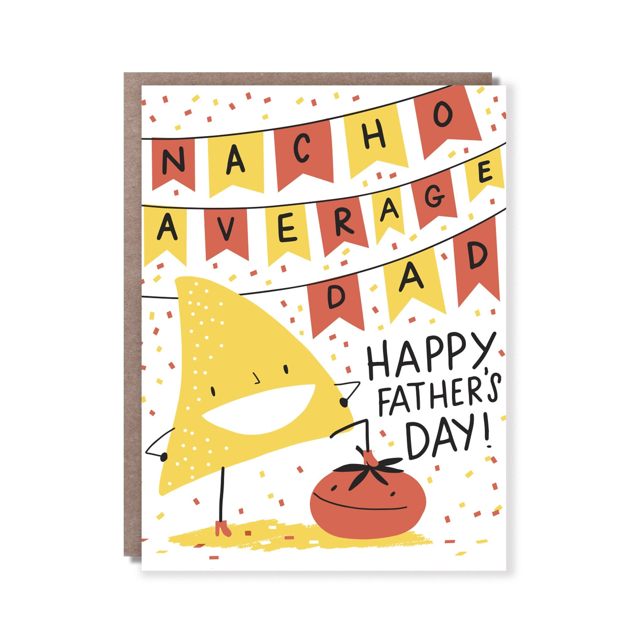 Nacho Average Dad Card, Hello!Lucky