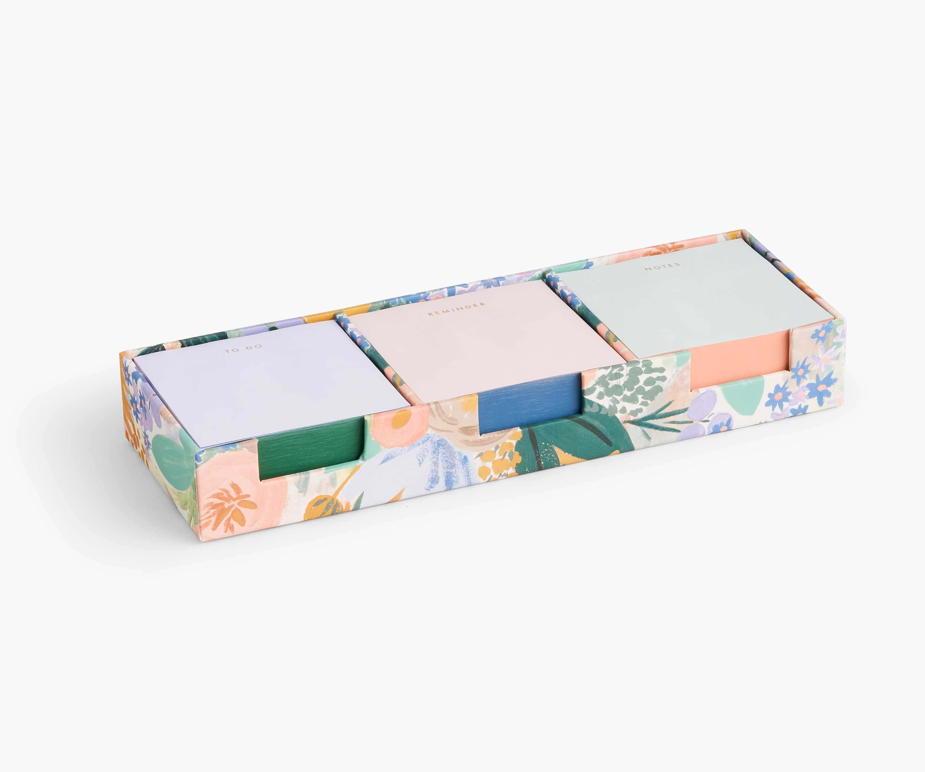 Luisa Sticky Note Cube Set, Rifle Paper Co.