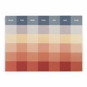 Palette Monthly Notepad--Before Sunset, Paperways