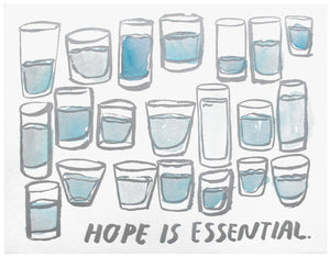 Hope is Essential Print, People I've Loved