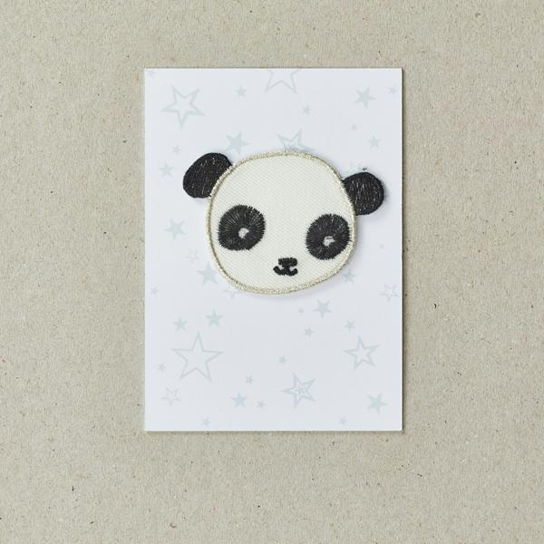 Panda Iron-On Patch, Petra Boase