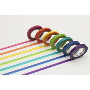 Rainbow Gradient Slim S/7, MT Tape
