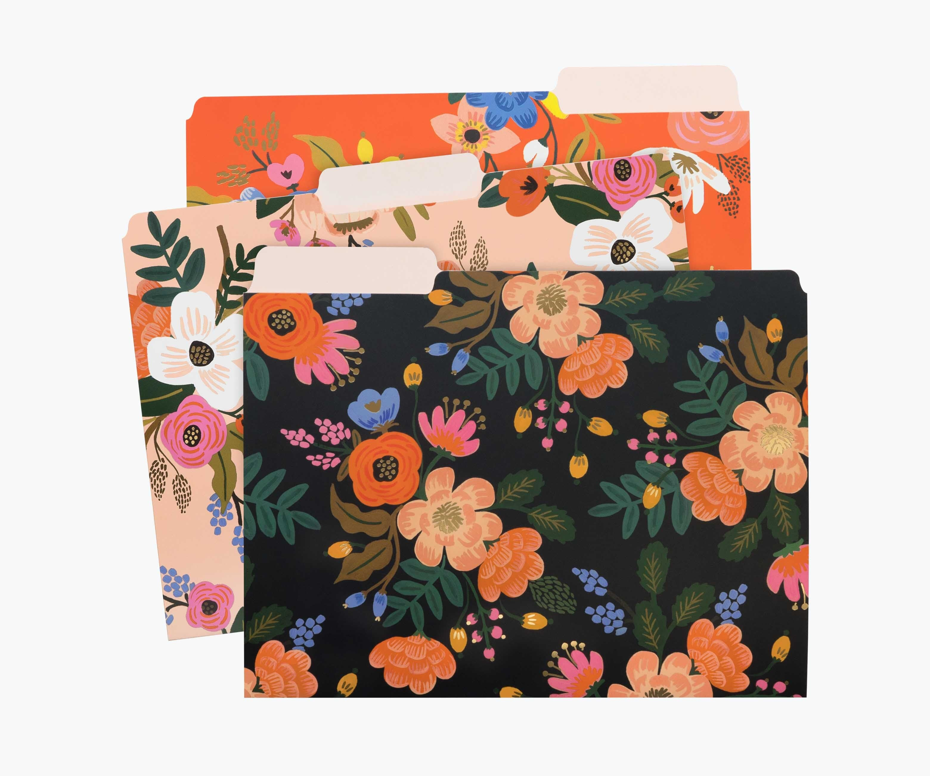 Lively Floral File Folders, Rifle Paper Co.