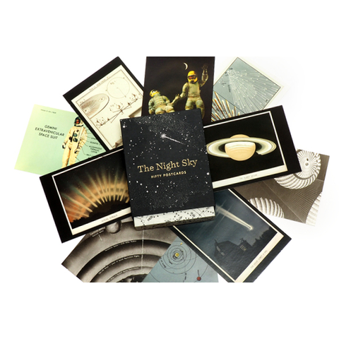 the night sky 50 postcard set princeton architectural press details