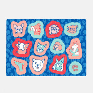Dogs Sticker Sheet, The Good Twin