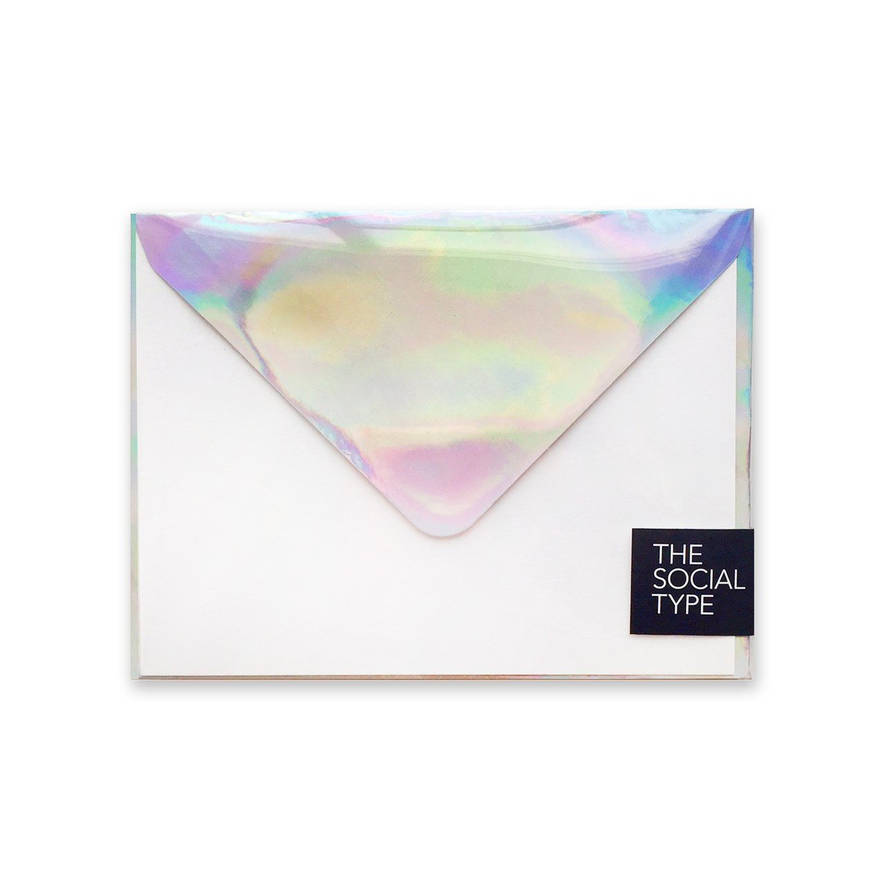 Silver Hologram Note Set, The Social Type